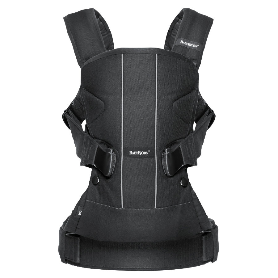 BABYBJÖRN Baby Carrier One Cotton Mix Black