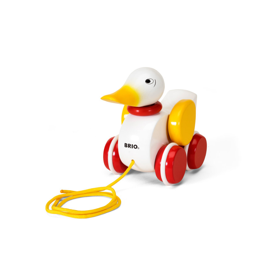 BRIO Pull-Along White Duck