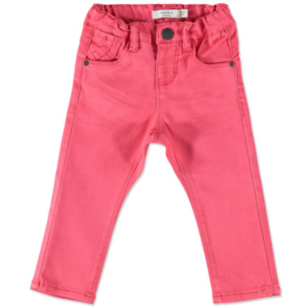 name it Girl s Jeans Belle Rajski raj Jeans Belle różowy