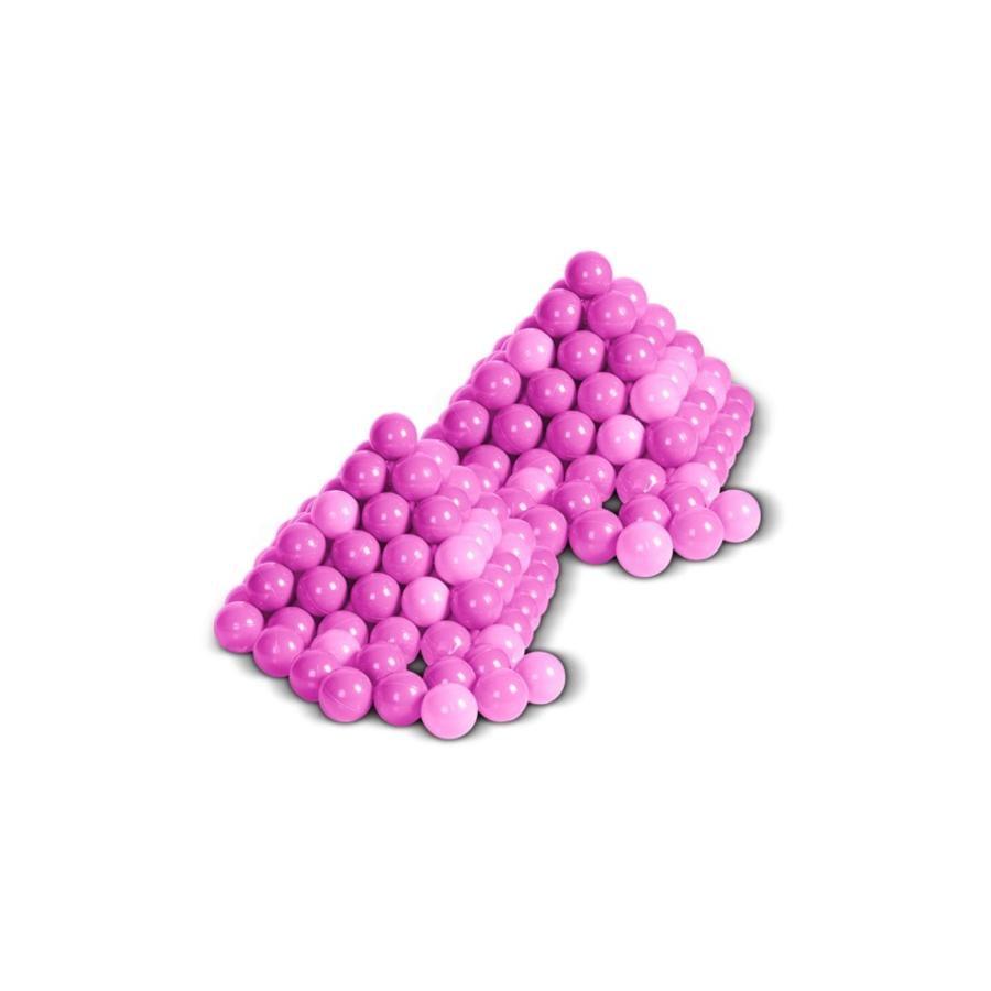 knorr® toys Jeu de balles, rose, 200 pièces