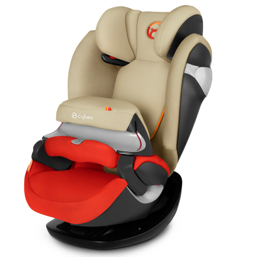 CYBEX Siège auto Pallas M Autumn Gold-burnt red