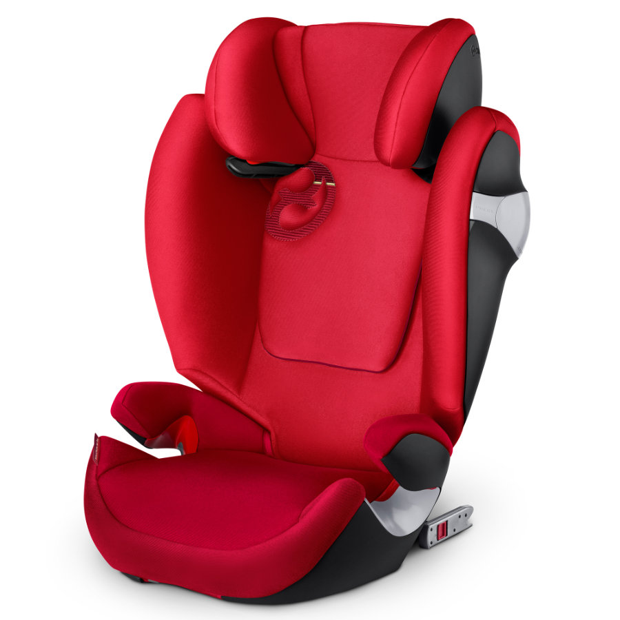 cybex GOLD Siège auto Solution M-fix Infra red-red