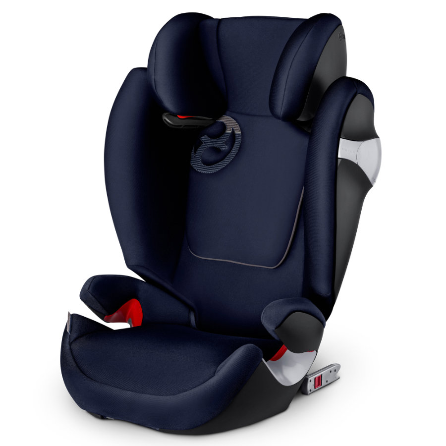 CYBEX Siège auto Solution M-fix Midnight Blue-navy blue