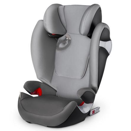 cybex GOLD Kindersitz Solution M-fix Manhattan Grey-mid grey