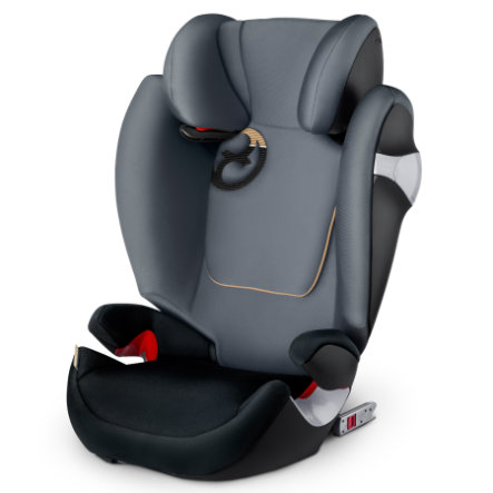 cybex GOLD Kindersitz Solution M-fix Graphite Black-dark grey