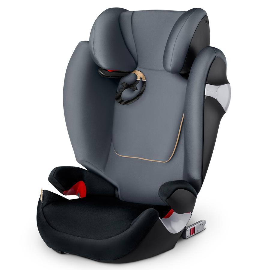cybex Bilbarnstol Solution M-fix Graphite Black-dark grey
