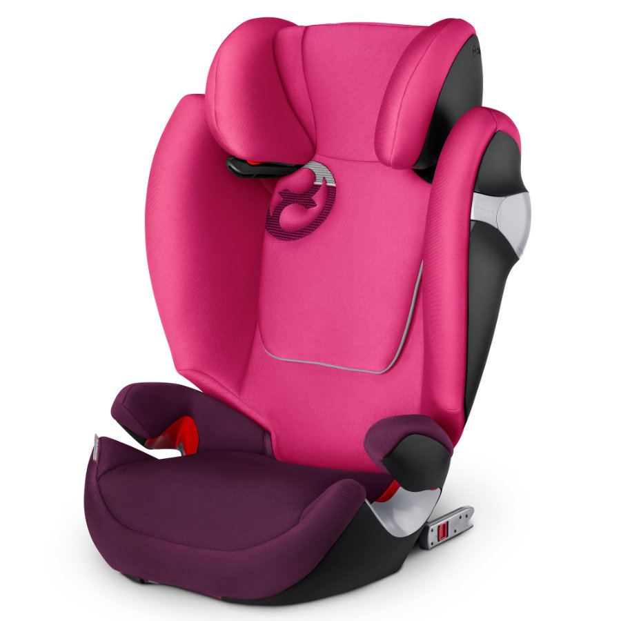 cybex GOLD Kindersitz Solution M-fix Mystic Pink-purple