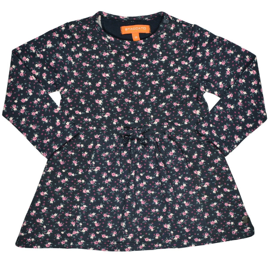 STACCATO Girls Kleid marine flower