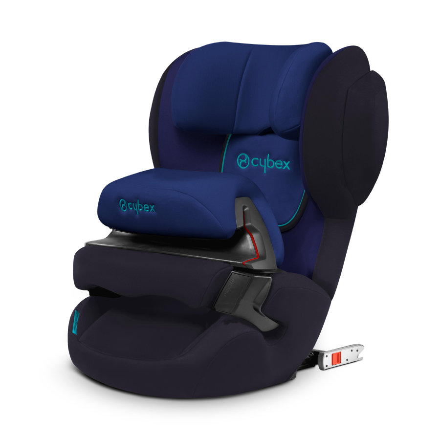 cybex SILVER Kindersitz Juno 2-fix Blue Moon-navy blue