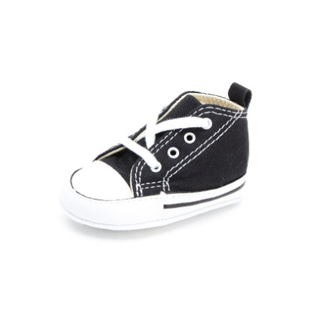 CONVERSE Halbschuh First Star black/white