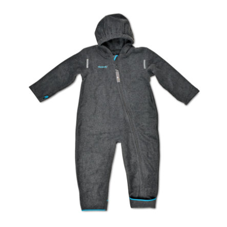 Hoppediz Fleece-Overall anthrazit