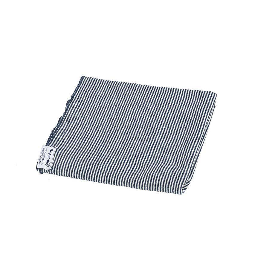 Hoppediz Zavinovací šátek modro-bílý