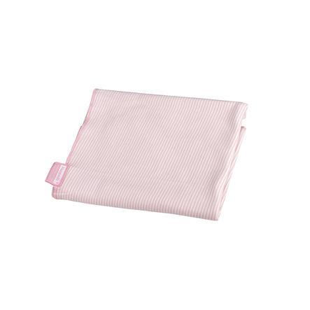 Hoppediz Zavinovací šátek růžovo-bílý