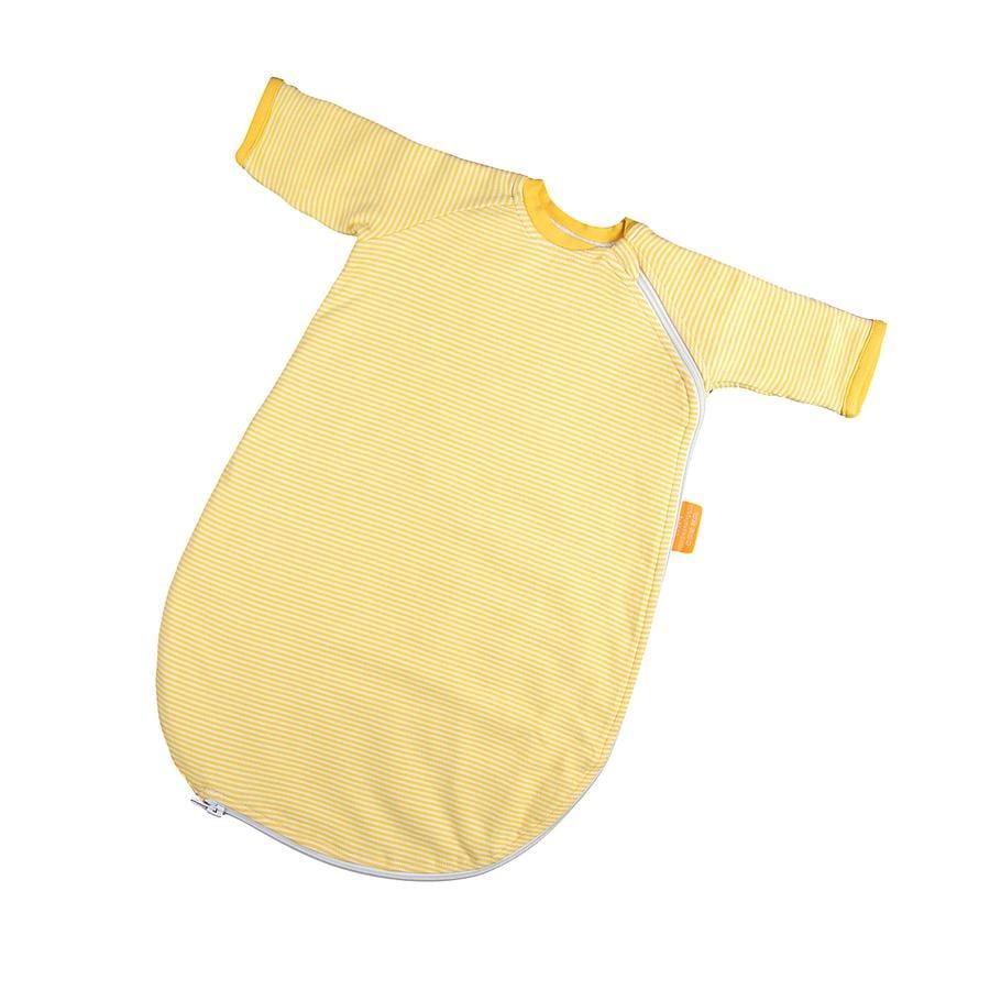 Hoppediz Baby Śpiworek, kolor żółty-biały