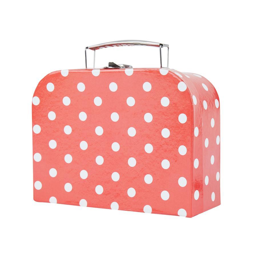 bieco Koffer met stippen klein