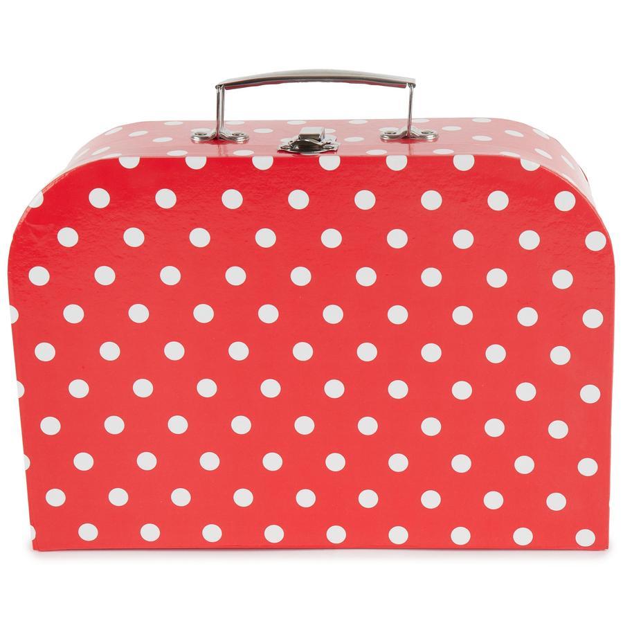 bieco koffert med prikker, stor