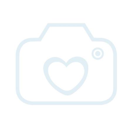 bieco faltbarer Bollerwagen mit Regenschutz, blau