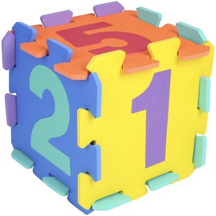 bieco Alfombrilla de rompecabezas - Números