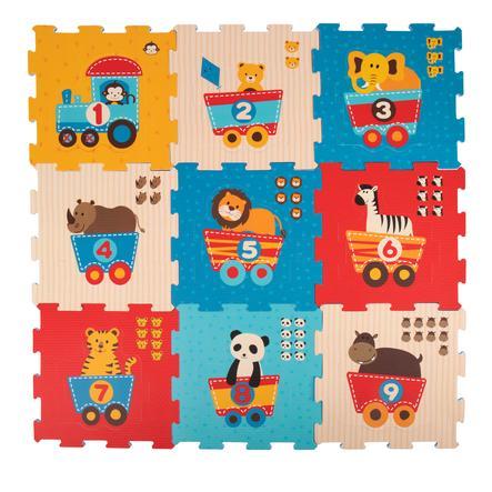 bieco Tappeto puzzle - Animali