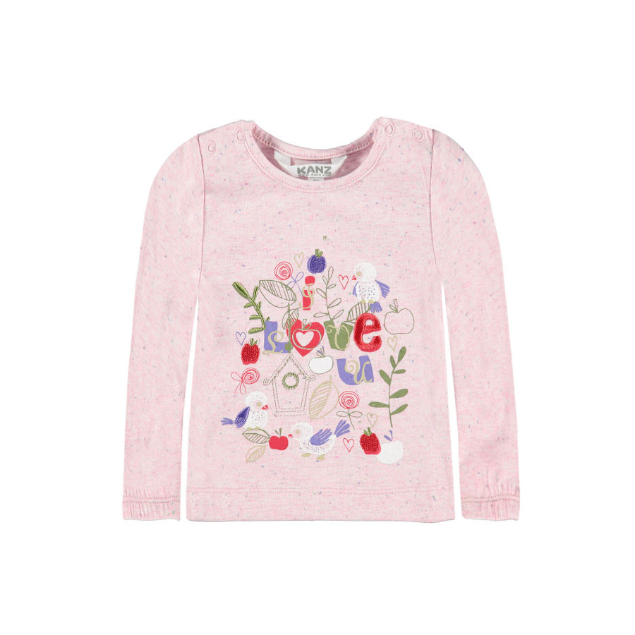 KANZ Girl s Manches longues rose