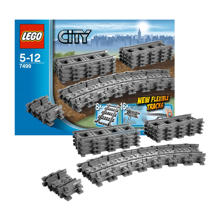 LEGO® City Flexibla spår 7499