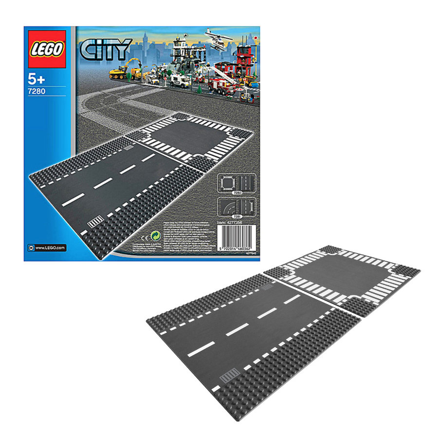 LEGO City - Straight Road and Crossroads 7280