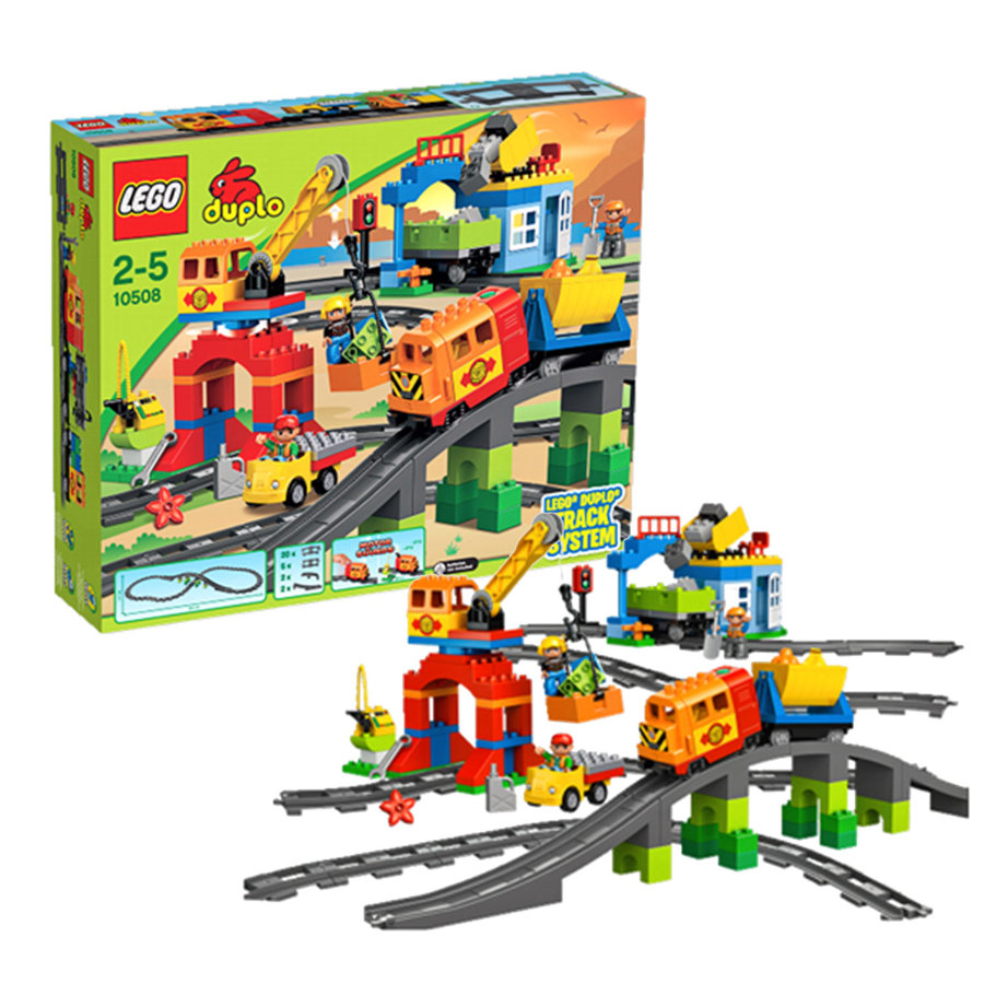 LEGO® DUPLO® - Eisenbahn Super Set 10508