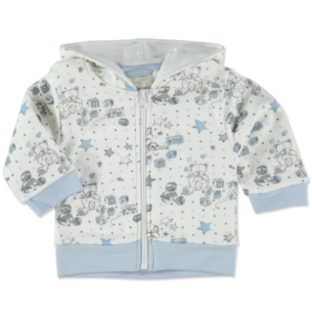 DIMO-TEX Sweat Jacket Teddy wit