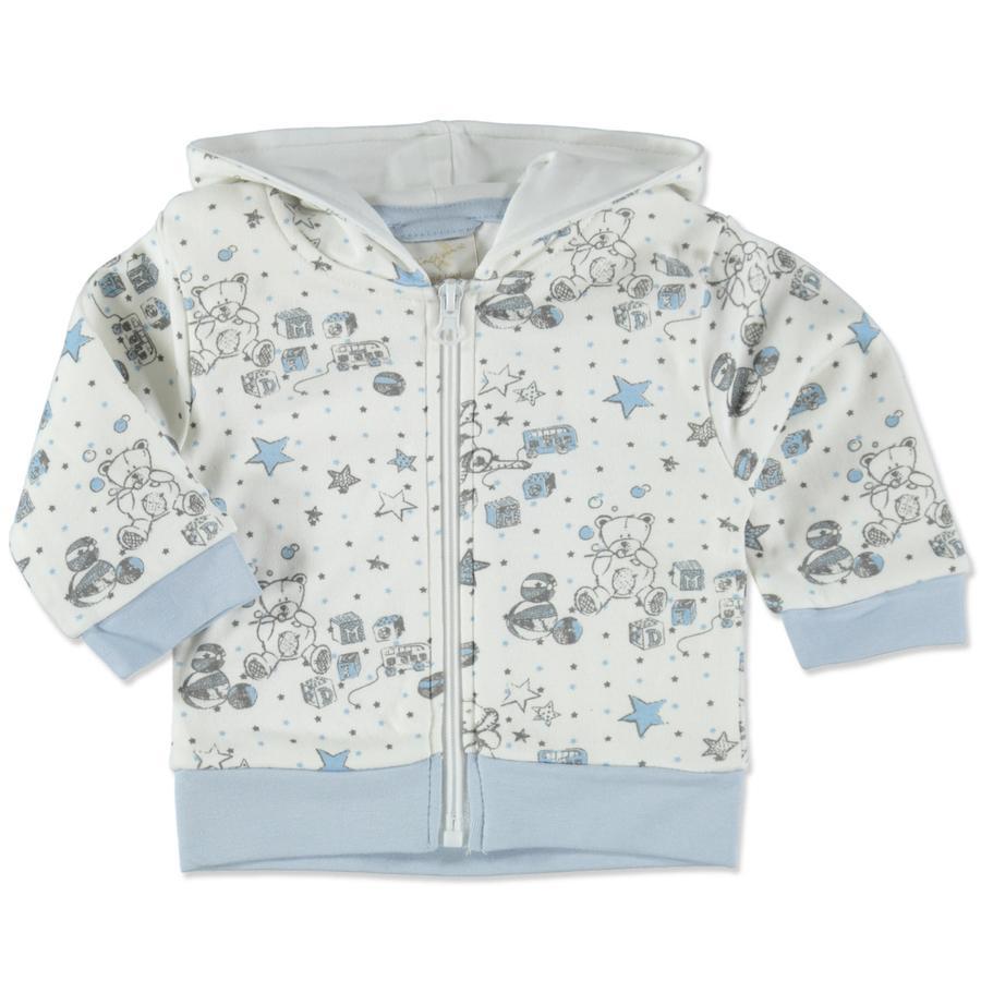 DIMO-TEX Sweat Jacket Teddy blanc