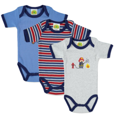 DIMO Boys Bodies 3er Pack blau