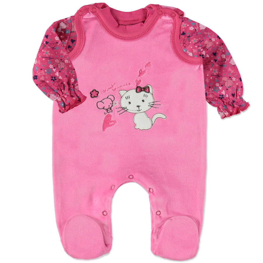 DIMO Girls Nicki Stramplerset 2-tgl. pink