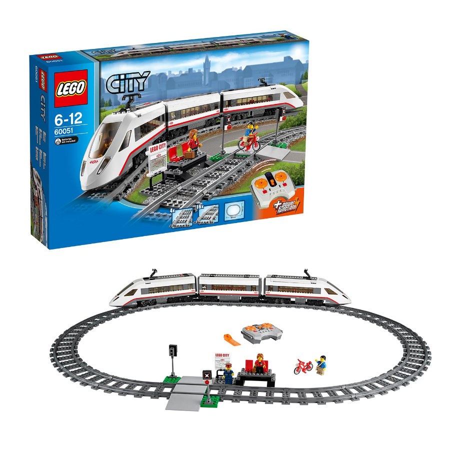 LEGO® City - High-Speed Passenger Train 60051