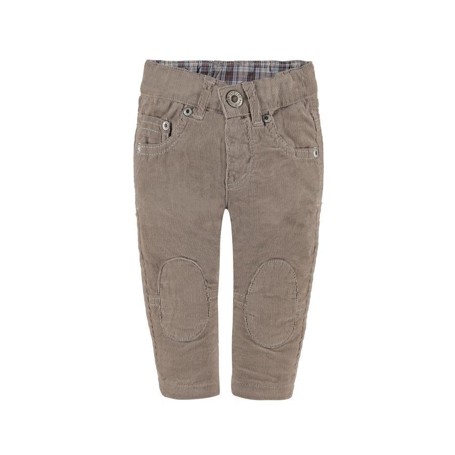 Steiff Boys Spodnie sztruksowe taupe
