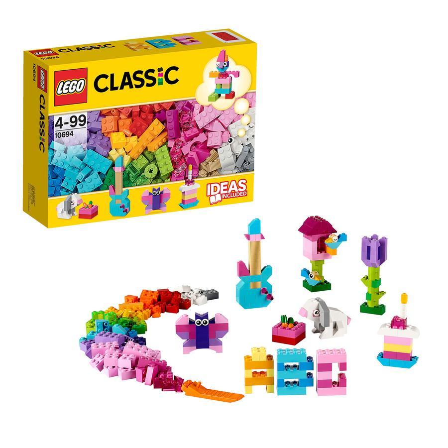 LEGO Classic 10694, Fantasikomplement – ljusa färger