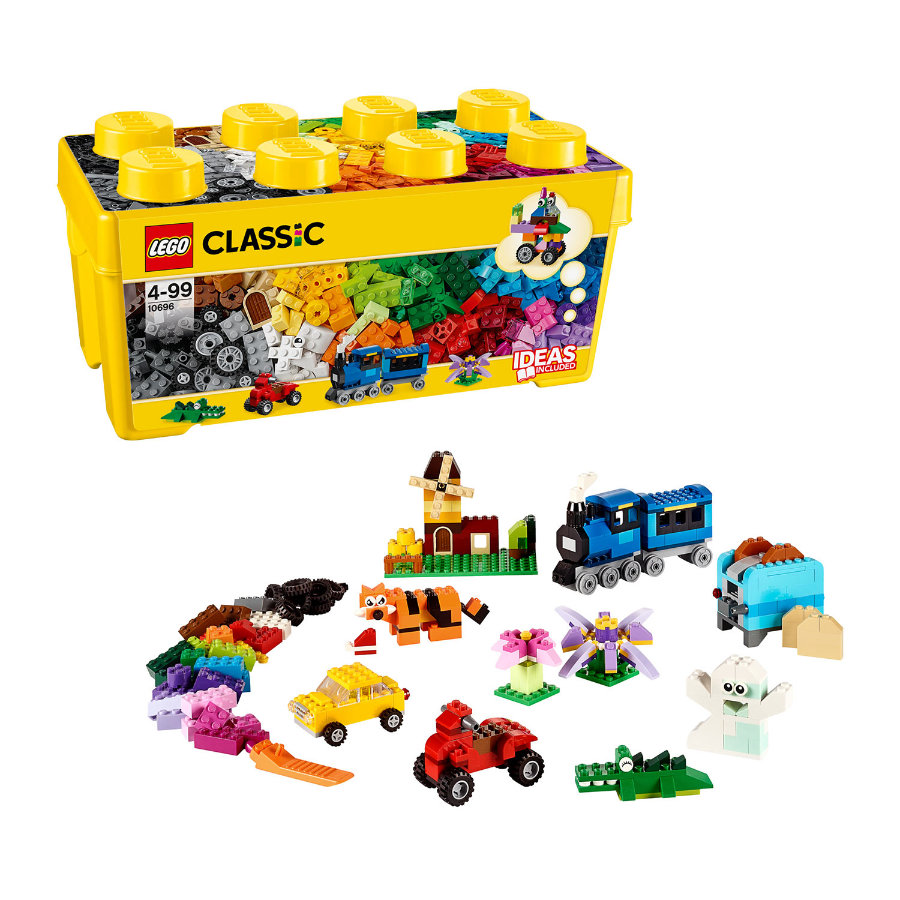 LEGO® Classic LEGO® Medium Creative Brick Box 10696