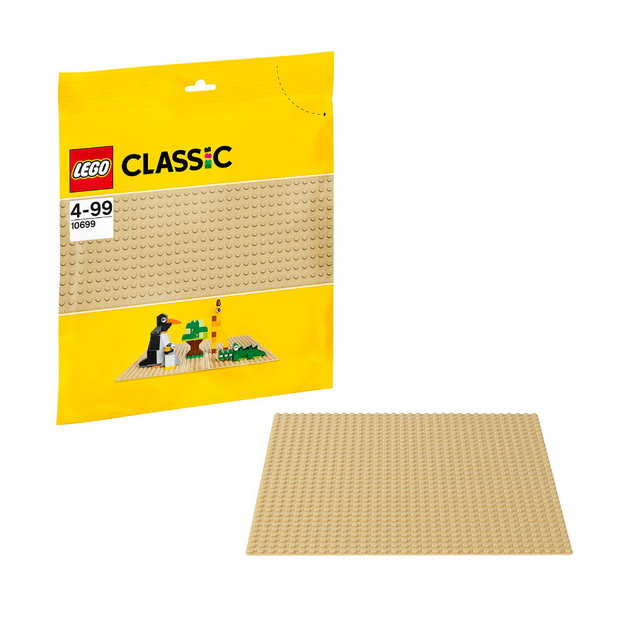 LEGO® Classic Zandkleurige bodemplaat 10699