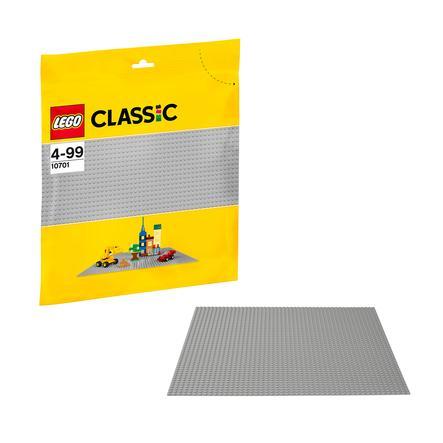 LEGO® Classic - Podložka na stavění - šedá 10701