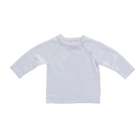 Feetje Sweter z dzianiny, biały