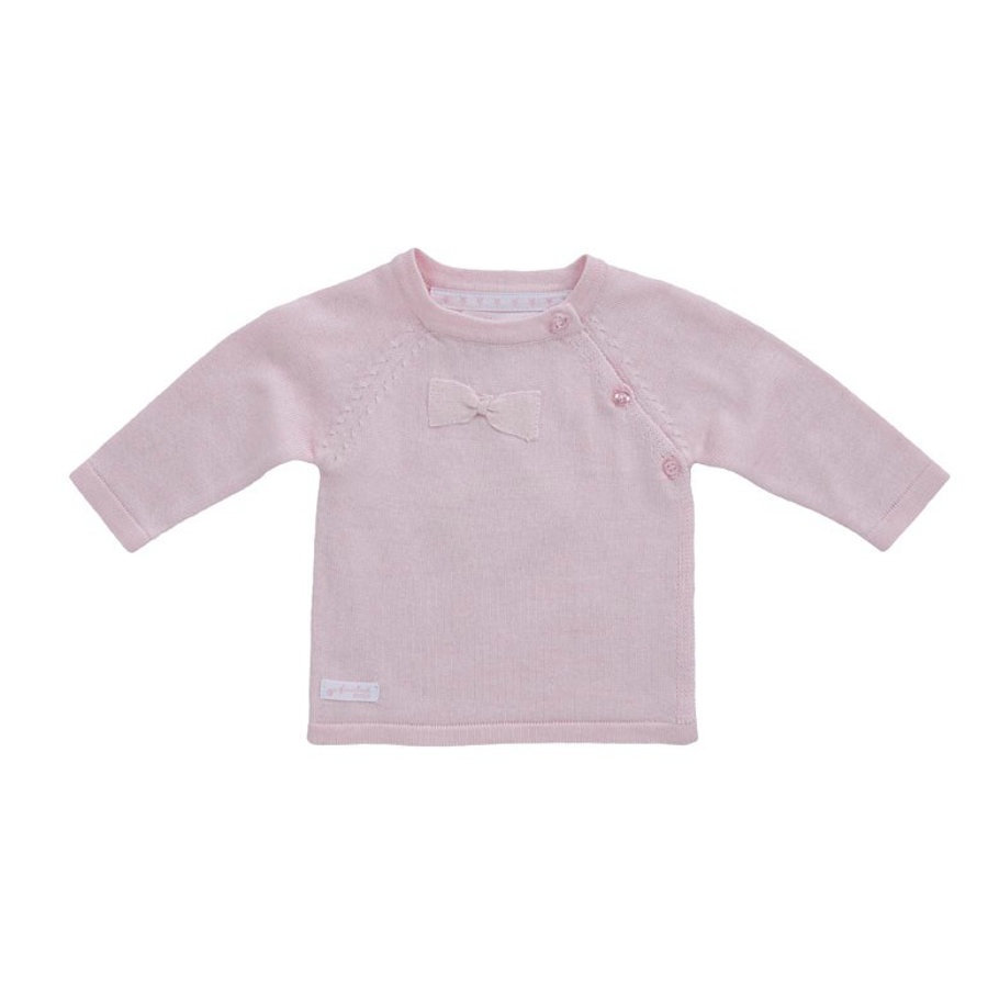 Feetje Pull tricoté rosé
