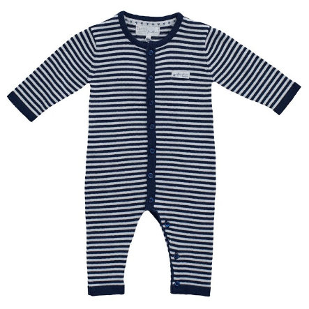 Feetje Combinaison pyjama bébé tricot bleu marine
