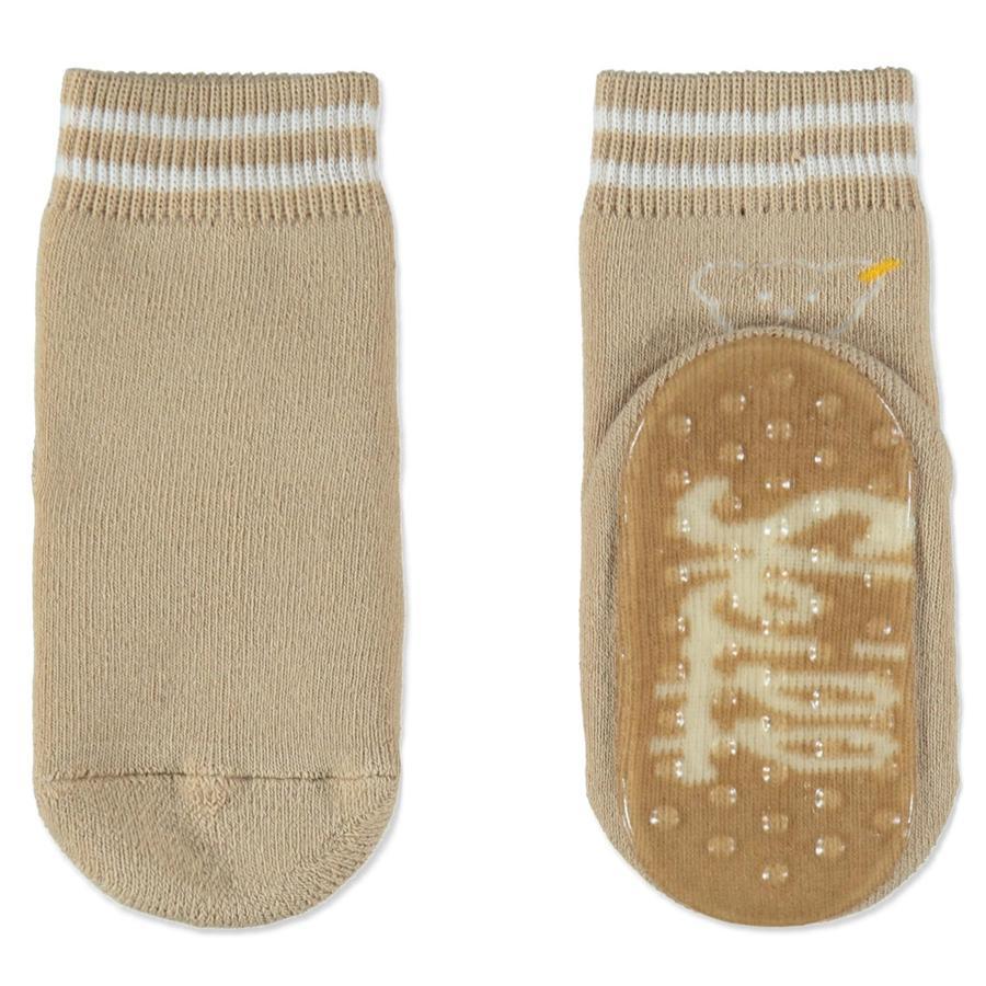 Steiff Anti-Slip Sokjes beige-bruin