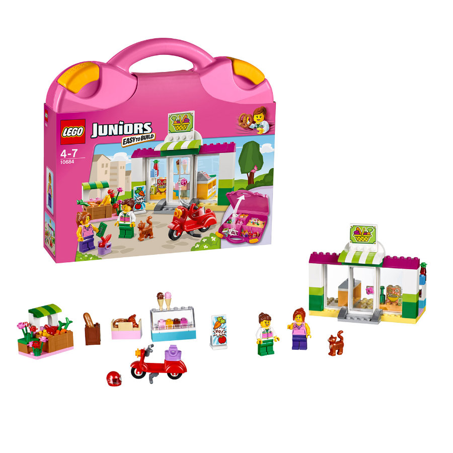 LEGO® JUNIORS - Supermarkt-Koffer 10684