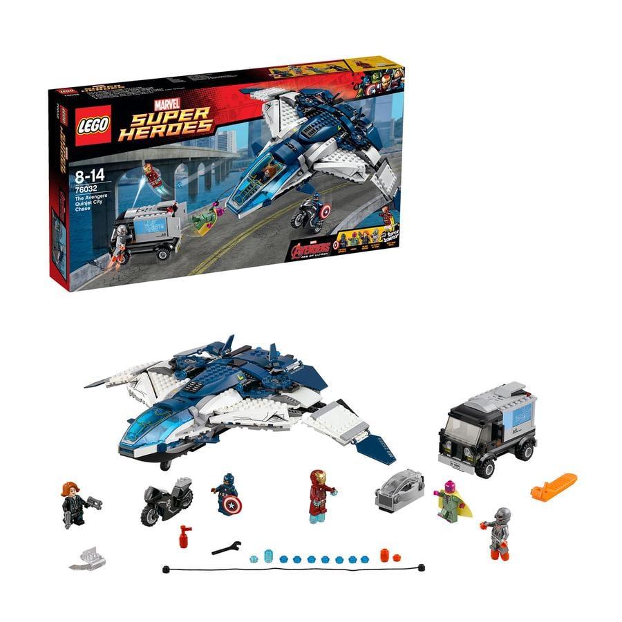 LEGO Super Heroes 76032 Hämnarnas cityjakt med Quinjeten