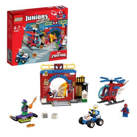 LEGO® JUNIORS - Il nascondiglio di Spider-Man™ 10687