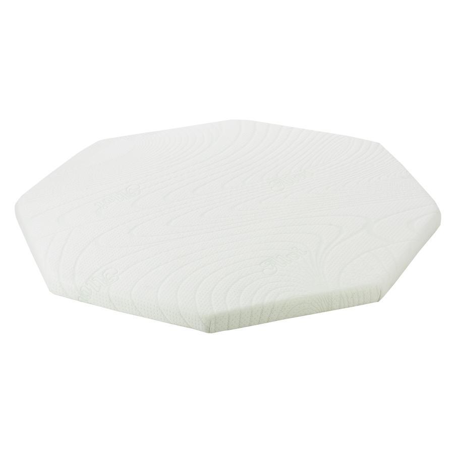 Alvi® Matras voor box, 8-hoekig, 115 cm