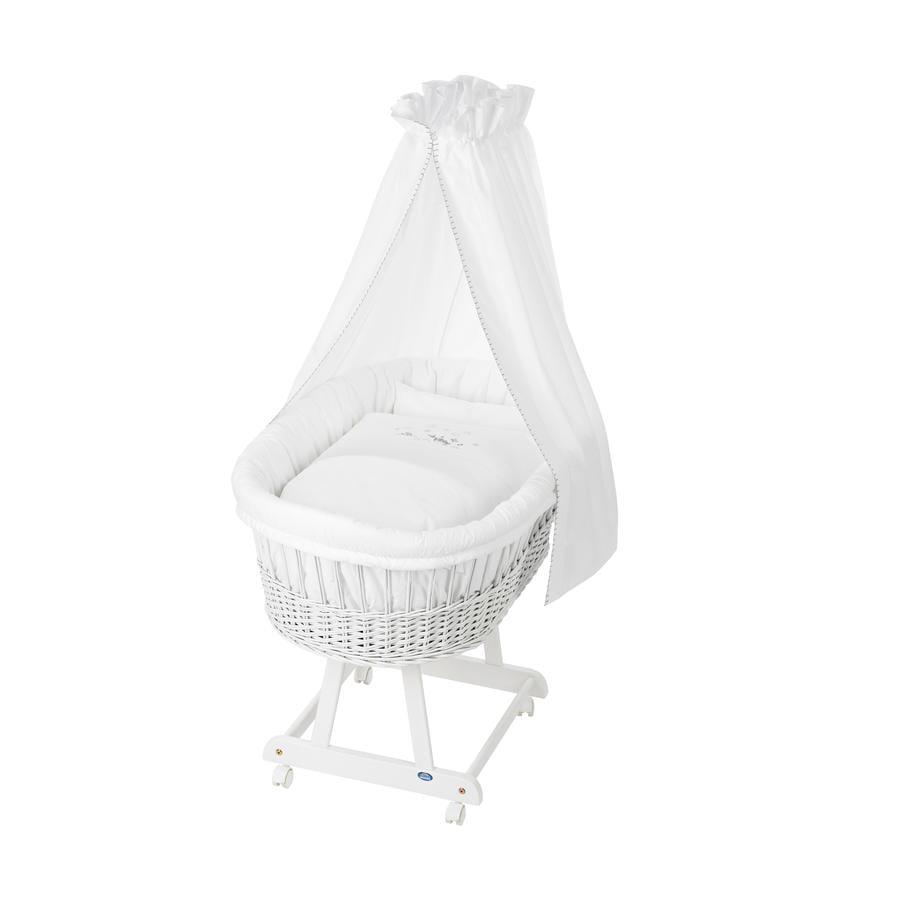 Alvi Culla Birthe bianca con biancheria 757-0 Dolci sogni