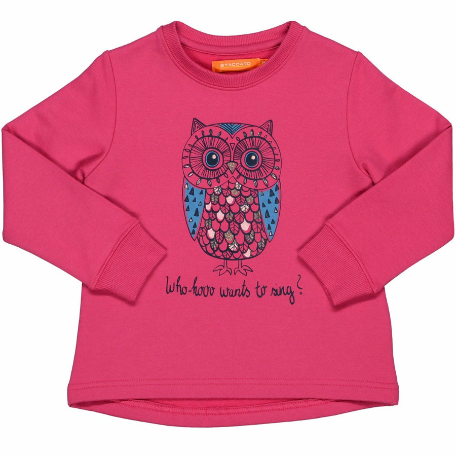 STACCATO Girls Sweatshirt raspberry