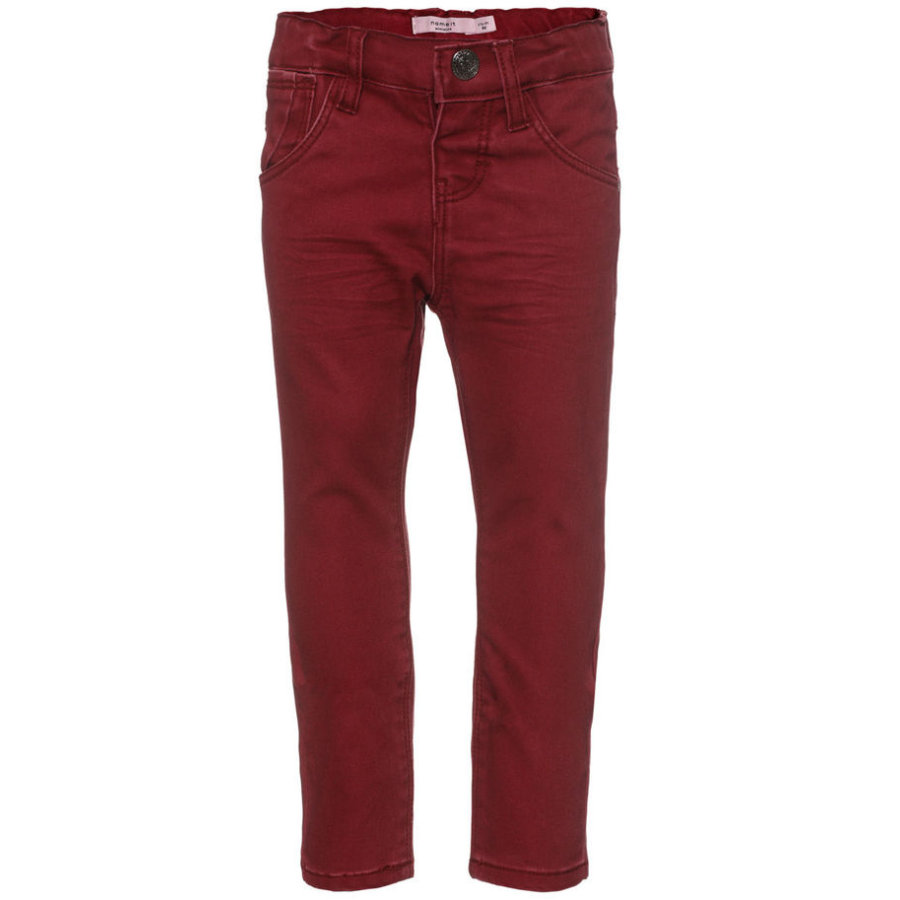 name it Girls Jeans Belle tibetan red