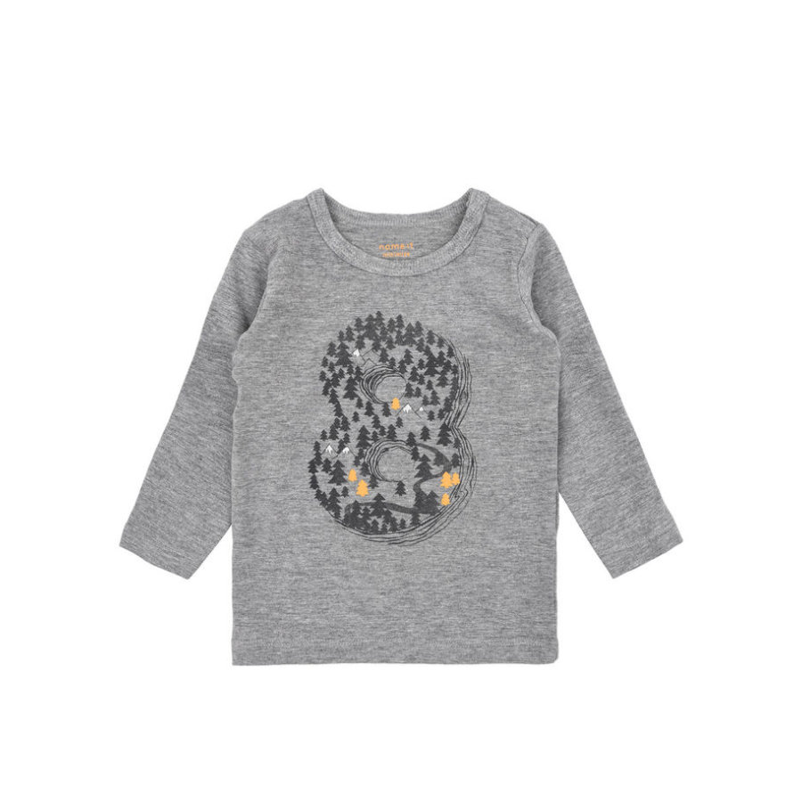 name it Boys Longsleeve Tree grey melange