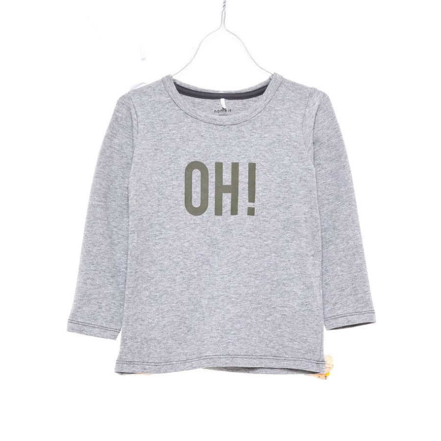 name it Boys Longsleeve Hokus grey melange